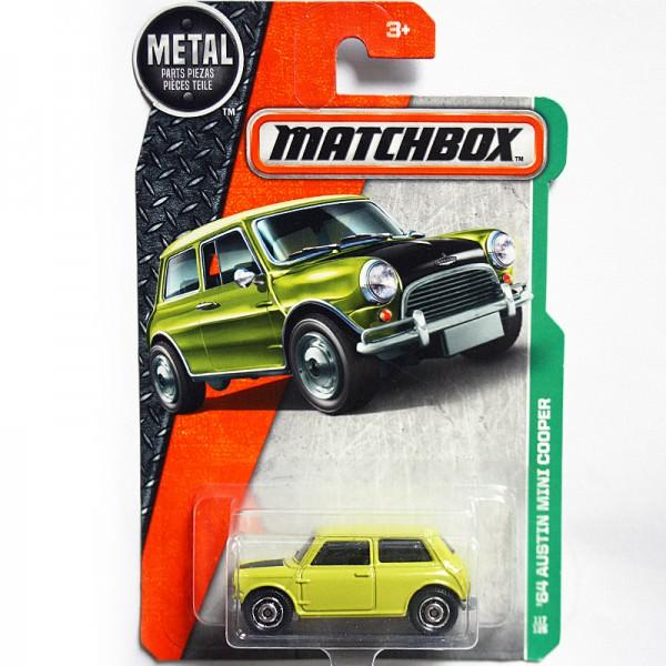 Matchbox   Austin Mini Cooper lime green US