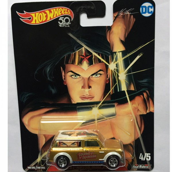 Hot Wheels | '67 Austin Mini Van Wonder Woman