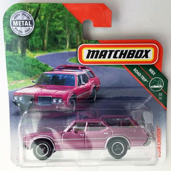 Matchbox | Oldsmobile Vista Cruiser, lila metallic