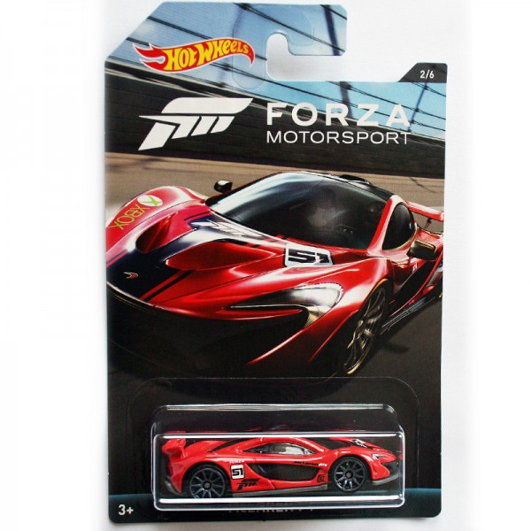 Hot Wheels | Forza Motorsport McLaren P1 rot