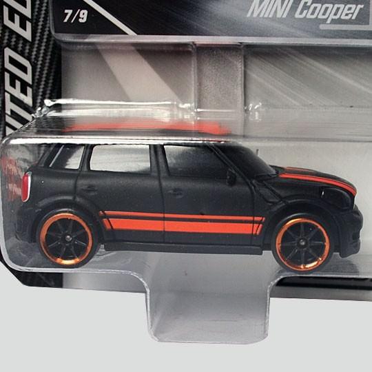 Majorette |MINI Cooper S mattschwarz