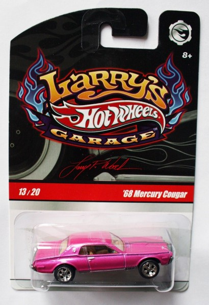 Hot Wheels | Larry's Garage '68 Mercury Cougar pink