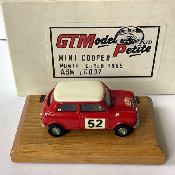 GT.Model Petite (George Turner) | Morris Mini Cooper S Monte Carlo 1965