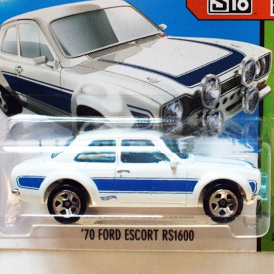 Hot Wheels | Ford Escort RS1600 white