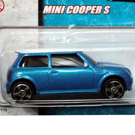 Maisto | Mini Cooper S blaumetallic