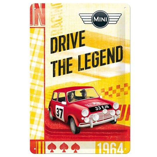Metal sign | Mini - Drive the Legend