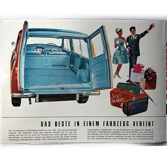 Austin Mini Kombi Brochure