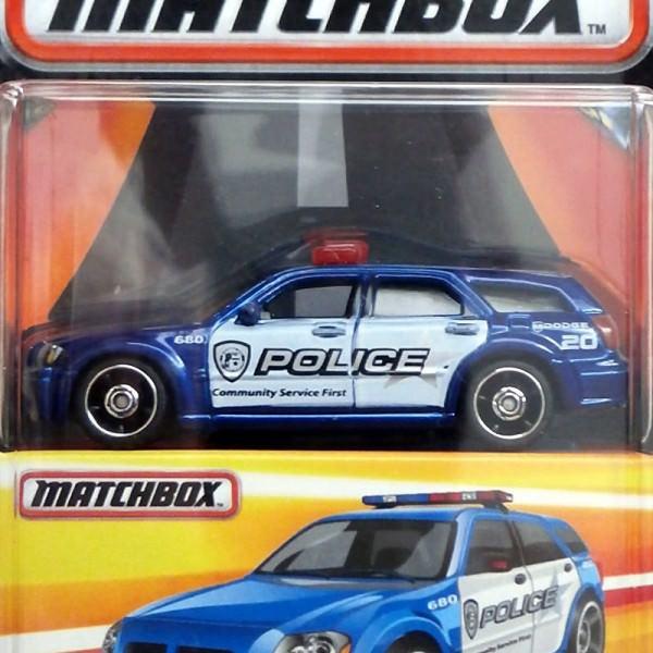 Matchbox | Dodge Magnum Police blau