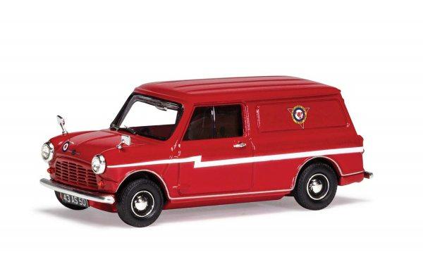 Vanguards   Morris Mini Van Red Arrows RHD red