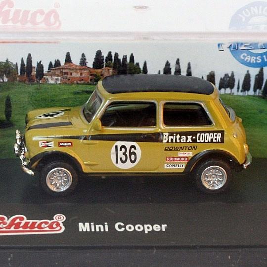 Schuco | Mini Cooper Britax Nr. 136