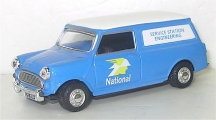 Oxford Diecast | Mini Van National Service Station