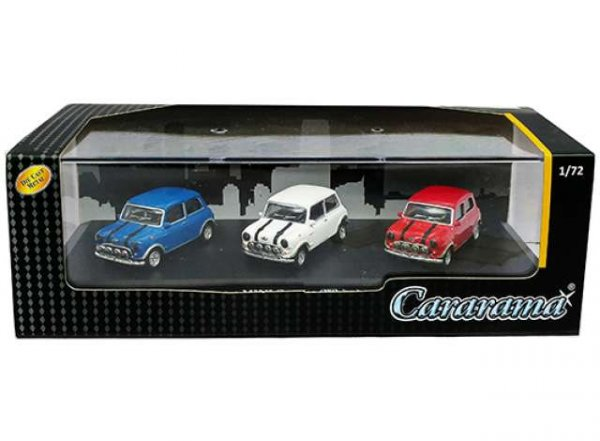 "Cararama | Set of 3 Mini Cooper ""The Italian Job"""