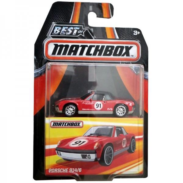 Matchbox | Porsche 914/6 rot