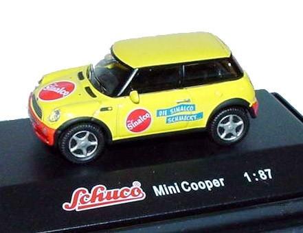 Schuco | BMW Mini Cooper Sinalco