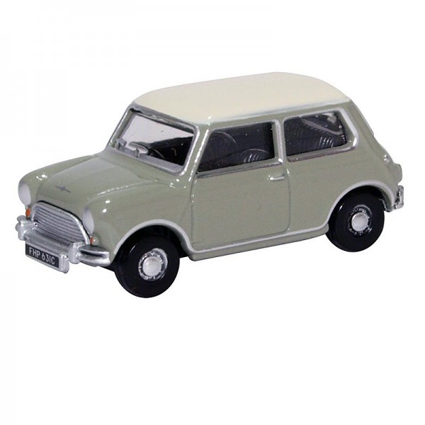 Oxford Diecast | Austin Mini Cooper Tweed Grey