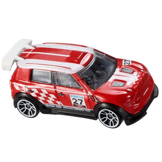 Hot Wheels | MINI Countryman Rally rot