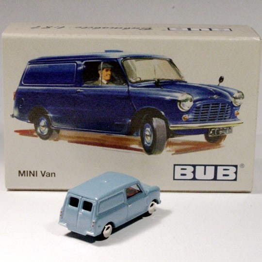 Bub | Mini Van light blue