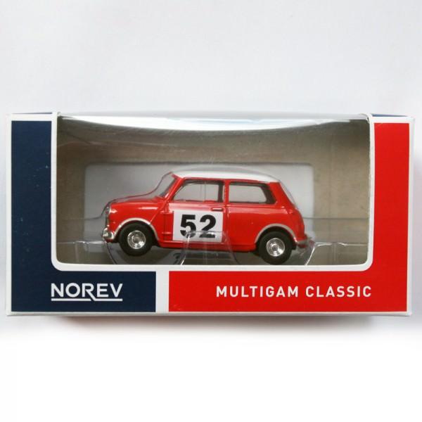 Norev | Mini Rallye No 52 Blisterbox blau/rot