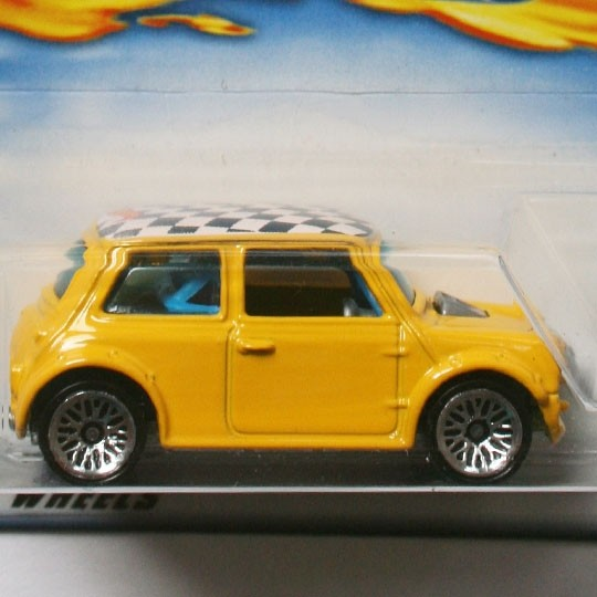 Hot Wheels | Mini Cooper gelb First Editions US 1