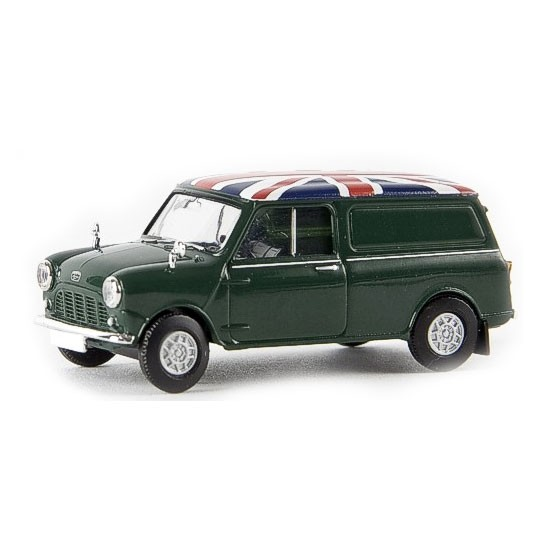 Brekina | Austin Mini Van dark green