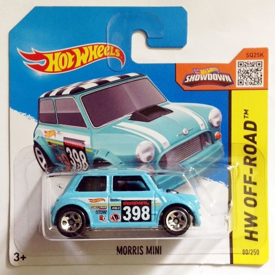 Hot Wheels | Morris Mini #398 türkis