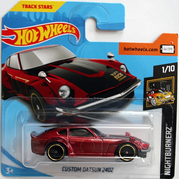 Hot Wheels | Custom Datsun 240Z, dunkelrot metallic
