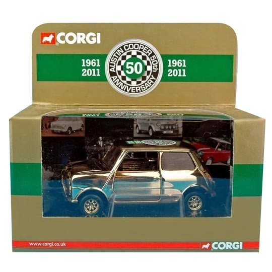 Corgi | Cooper 50th Anniversary 24ct vergoldet