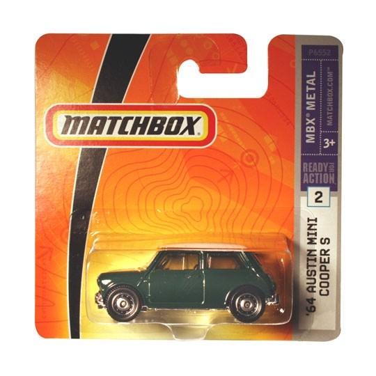 Matchbox | Austin Mini Cooper S grün