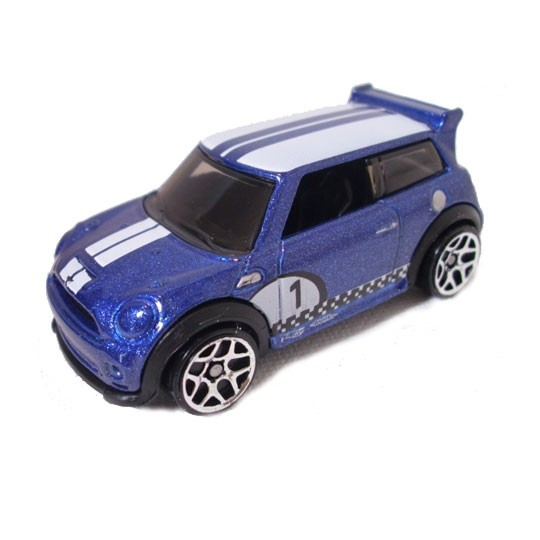 Hot Wheels Bmw Mini Cooper S Challenge Blue De Different Scales