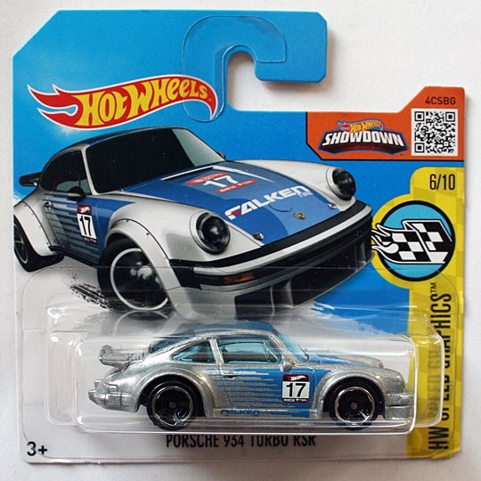 Hot Wheels | Porsche 934 Turbo RSR silber #17