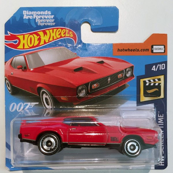 Hot Wheels | '71 Mustang Mach I rot Diamonds are forever