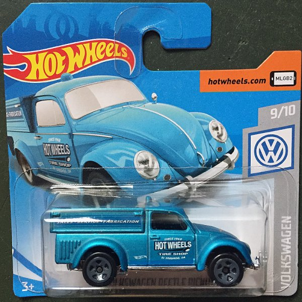 Hot Wheels | '49 Volkswagen Beetle Pickup blaumetallic