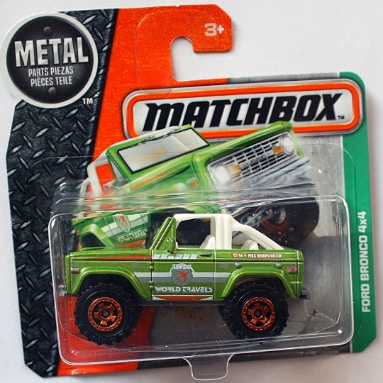 Matchbox | Ford Bronco 4x4