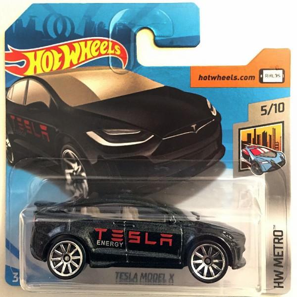 Hot Wheels | Tesla Model X schwarz