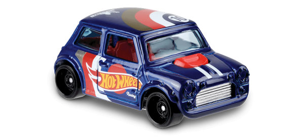 "Hot Wheels   Morris Mini ""Hot Wheels Racing"" blaumetallic"