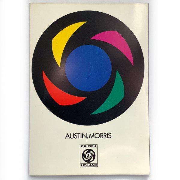 Original brochure / colour chart Leyland Colours and Trim Austin, Morris