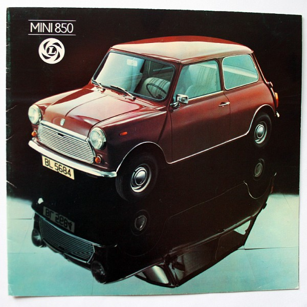 Swiss original brochure Leyland Mini 850