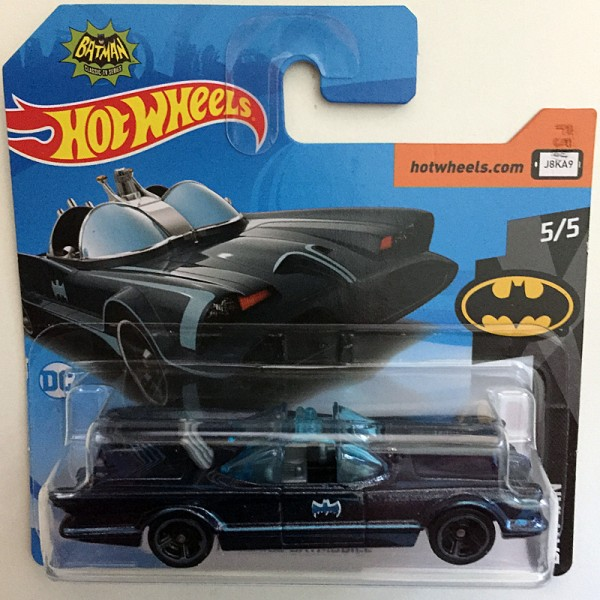 Hot Wheels | TV Series Batmobile, schwarz/blau