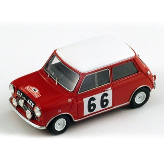 Spark | Morris Mini Cooper No.66 6th Monte Carlo 1963