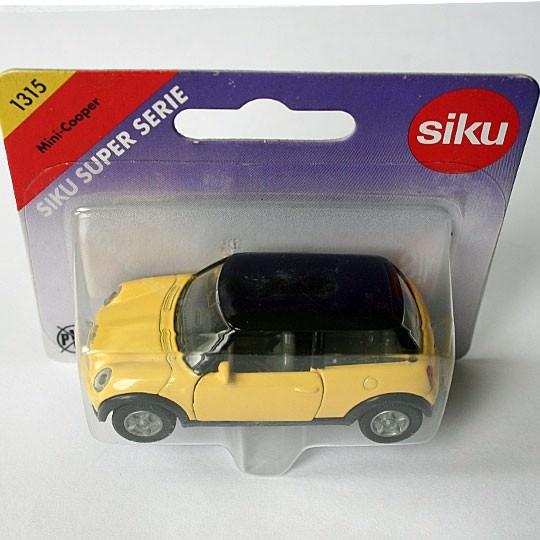 Siku | BMW MINI yellow
