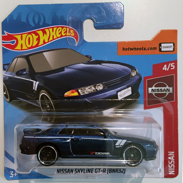Hot Wheels | Nissan Skyline GT-R (BNR32) blaumetallic