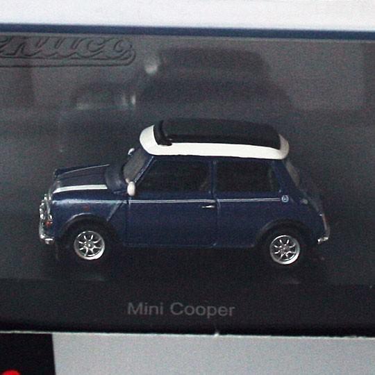 Schuco | Mini Cooper blau/weiß