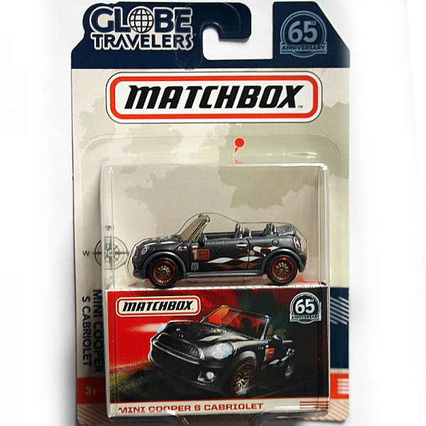 Matchbox | BMW Mini Cooper S Cabrio anthrazit
