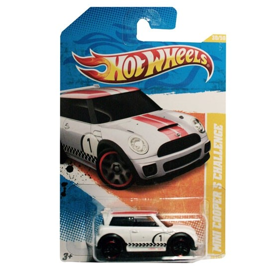 Hot Wheels | BMW MINI Cooper S Challenge white US