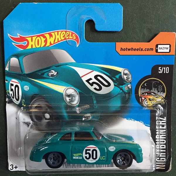 Hot Wheels | Porsche 356A Outlaw petrol