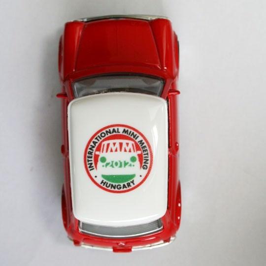 Bburago   Mini Cooper IMM 2012 Ungarn