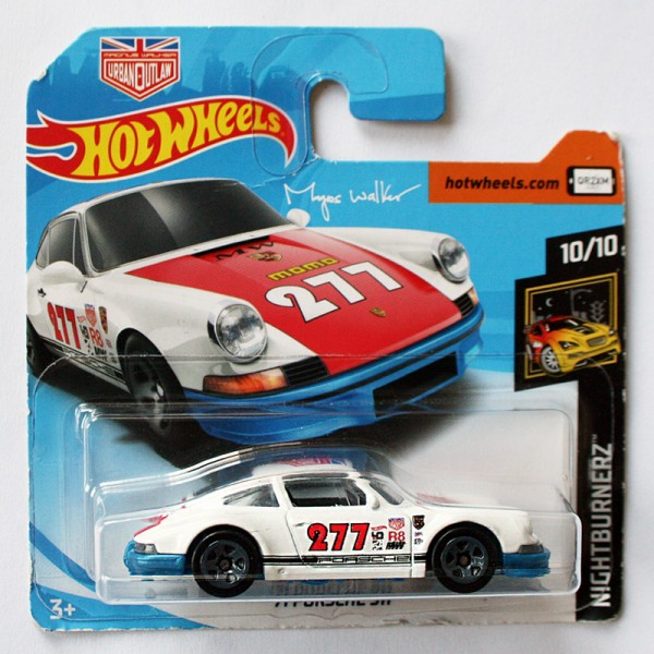 Hot Wheels   '71 Porsche 911 #277 Urban Outlaw blaue Bodenplatte