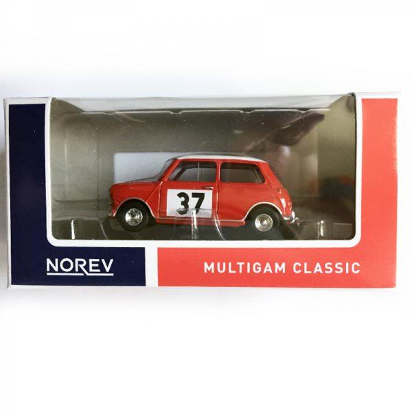 Norev | Mini Rallye #37 blue/red box