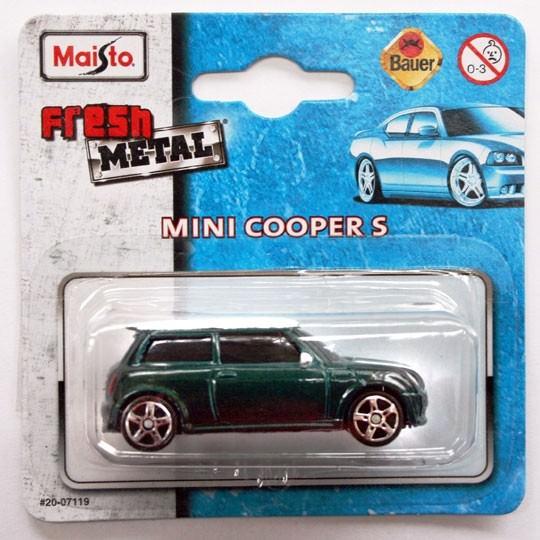 Maisto | Mini Cooper S dark green