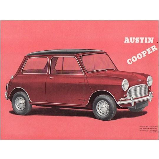 Austin Cooper 997 Brochure DE